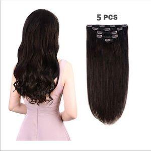 14 inch Dark Human Hair Extensions